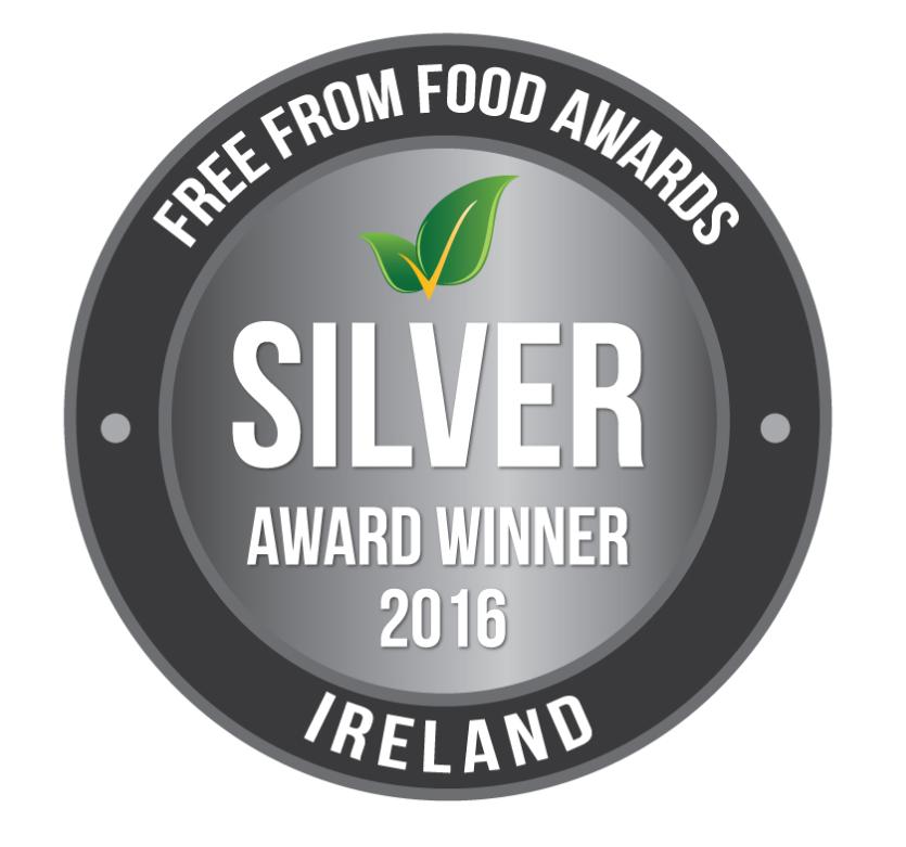 Free From Food Awards 2016 Ireland Silver Winner kent & Fraser gluten free award winning