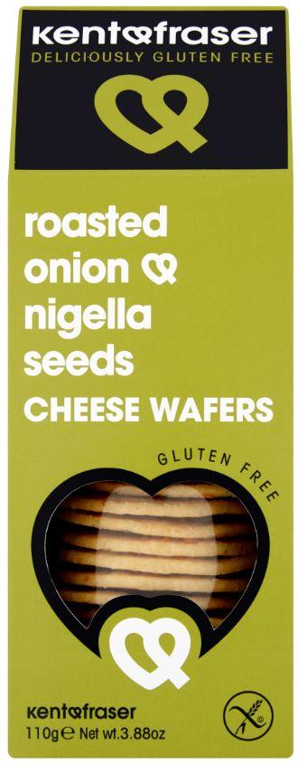 Roasted Onion & Nigella Seeds Cheese Wafers
