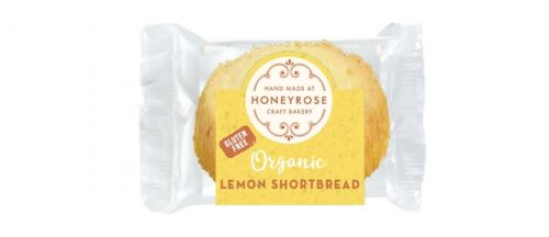 lemon shortbread gluten free and organic honeyrose bakery 25g