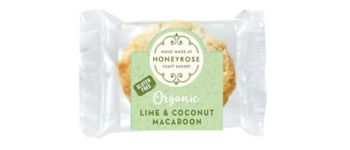 lime & coconut macaroon gluten free and organic honeyrosebakery 25g