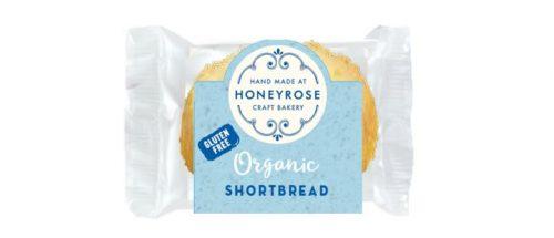 shortbread gluten free & organic honeyrose bakery 25g